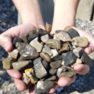 3-quarter gravel